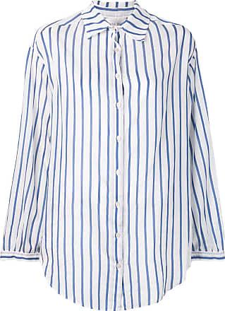 Forte_Forte Camisa listrada - Azul