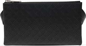 Bottega Veneta Set Of Detachable Pouches Mens Black