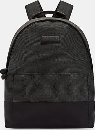 Ted Baker Nylon Backpack in Black KARAT, Mens Accessories