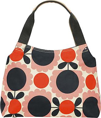 Orla Kiely Womens Classic Zip Shoulder Bag Messenger Bag Multicolour (Blush)