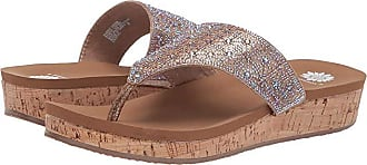 Yellow Box Cristal (Rose Gold) Womens Slide Shoes