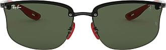 Ray-Ban Mens 0RB4322M Sunglasses, Black, 40.0