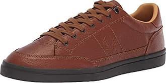 Fred Perry Mens Deuce Premium Leather Sneaker, tan 7 D UK (8 US)