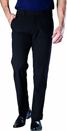 Heat Holders Mens Black Winter Fleece Lined Insulated Thermal Trousers (L31 W32, Black)