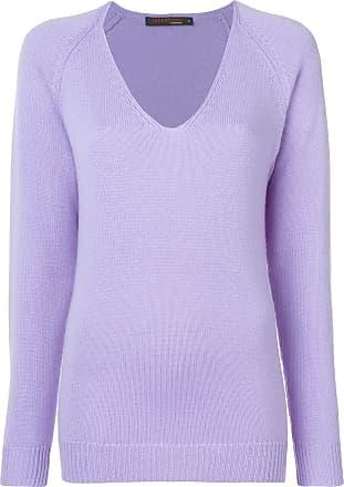 Incentive! Cashmere Suéter de tricô - Roxo
