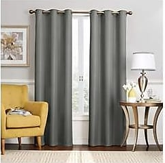 Eclipse Nikki Thermaback Blackout Curtain Panel - Gray - Size:40x63