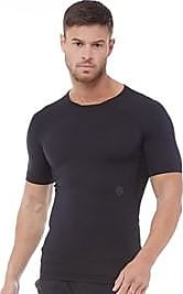 Under Armour short sleeve compression top with RUSH technology promoting more energy strength and stamina. 1327644-001