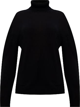 Jil Sander Wool Turtleneck Sweater Womens Black