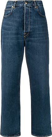 Golden Goose high-waisted wide leg jeans - Blue