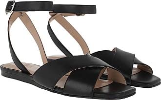 What For Sandals - Blanchett Flat Sandals Black - black - Sandals for ladies