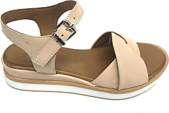 Inuovo 113017 Womens Sports Sandal Leather Beige Size: 6 UK