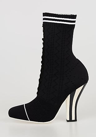 Fendi 11cm Stretchy Sock Boots size 37,5
