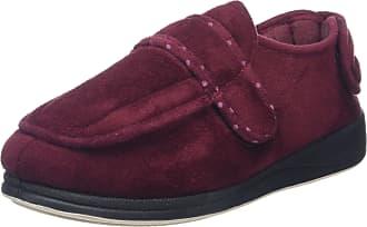 Padders Women Enfold Velcro Shoes, Red (Burgundy Textile), 4 UK 37 EU
