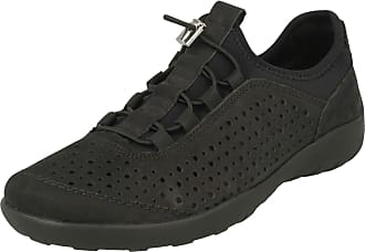 Remonte Ladies Soft Casual Trainer Shoe R3500-02 - Black Leather - UK Size 6.5 - EU Size 40 - US Size 8.5