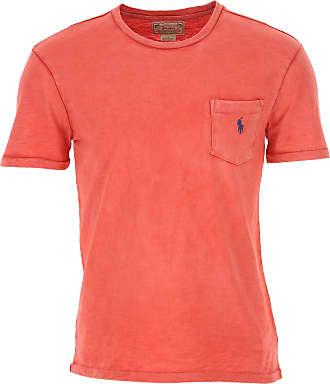 Ralph Lauren T-Shirt Uomo On Sale, Mattone Rosso, Cotone, 2019, L M S XL
