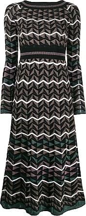 M Missoni jersey dress - Marrom