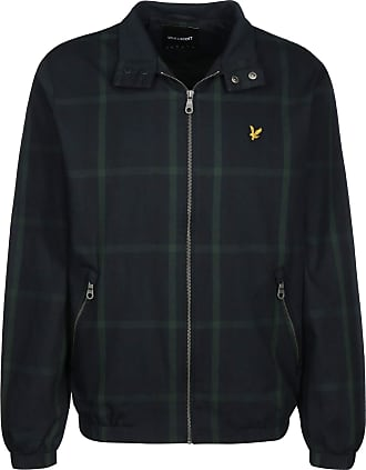 Lyle & Scott Lyle and Scott Mens Tartan Harrington Jacket - Cotton - L