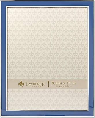 Lawrence Frames 8x10 Navy Enamel Picture Frame, Blue