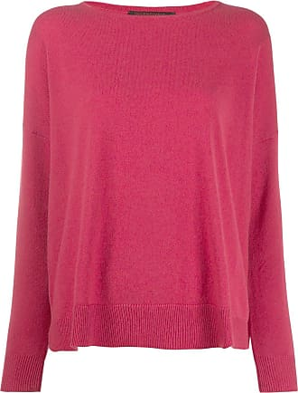 Incentive! Cashmere drop shoulder jumper - Rosa