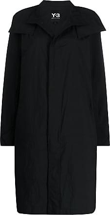 Yohji Yamamoto Travel single-breasted coat - Black