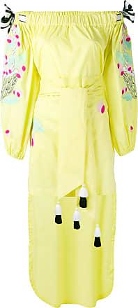 Yuliya Magdych Cherry dress - Yellow