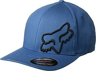 free shipping 2ccca 0fd0e Fox Mens Flex 45 Flexfit HAT, Dusty Blue, S M
