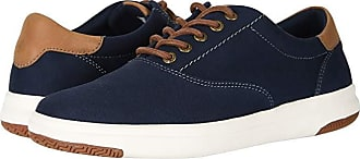 Dockers Kepler Smart Series Casual Sneaker with Smart 360 Flex and NeverWet (Navy Stretch Twill) Mens Lace up casual Shoes