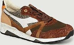 Diadora Braune Cashew Leder Schmiede Turnschuhe - leather | 10.5 | brown - Brown/Brown