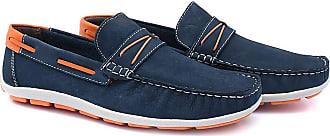 Di Lopes Shoes Mocassim em Nobuck em Couro (42)