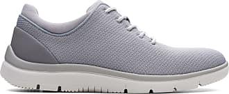 Clarks Mens Shoe Grey Clarks Tunsil Ace Size 11.5