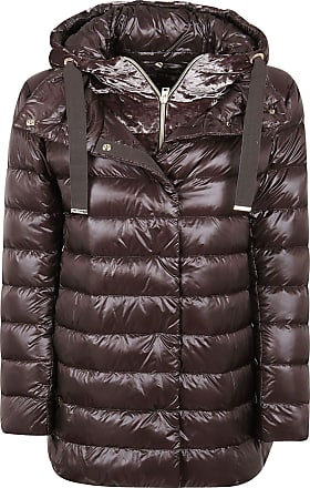 Herno Fashion Woman PI053DR120178800 Brown Polyester Down Jacket | Fall Winter 20