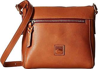 Dooney & Bourke Florentine Classic Allison Crossbody (Natural/Self Trim) Cross Body Handbags