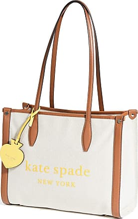 Kate Spade New York Market Canvas Medium Tote Beige Size: One size