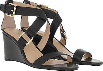 Lauren Ralph Lauren Sandals - Chadwell Casual Wedge Sandals Black - black - Sandals for ladies