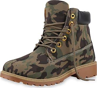 Scarpe Vita Women Bootee Worker Boots Prints Tread Sole 165577 Camouflage UK 5.5 EU 39