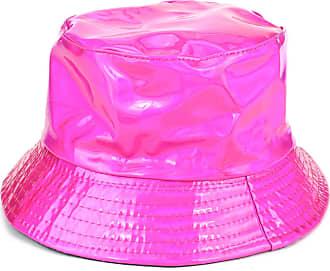 Loud Elephant Firefly Shiny Metallic Bucket Hat - Fuchsia