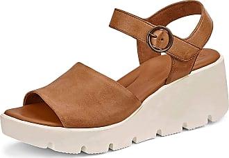 Paul Green 7366-006 Womens Sandals Brown Size: 8.5 UK