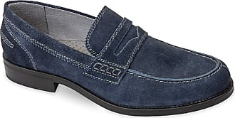 Valleverde Loafers Man suede 46870 dove or ocean A comfortable footwear suitable for all occasions. Spring Summer 2020 Blue Size: 8.5 UK