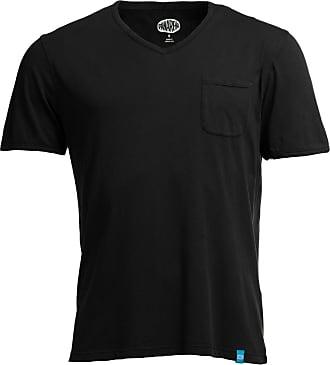 Panareha T-shirt scollo a V MOJITO nero