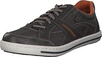 Rieker Mens Low Sneaker Gray, Size:42