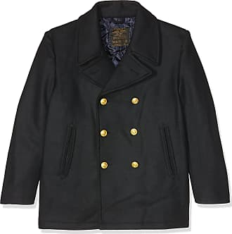 Mil-Tec GERMAN ARMY STYLE CLASSIC BW MARINE COLANI PEA COAT MENS PEACOAT NAVY BLUE, SIZE XXXL
