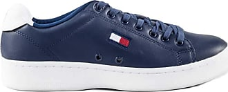 Tommy Jeans Mens navy blue sneakers with logo embroidery - Number 45