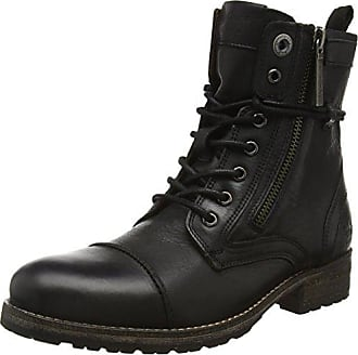 Pepe Jeans London London Damen Melting W.Zipper Kurzschaft Stiefel, Schwarz  (Black 999 a1f6bdf146