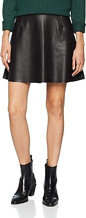 Vila Womens Vipen Skater Skirt-noos, Black, 12 (Size: Medium)