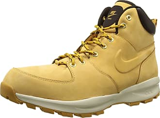 Nike Bota Nike Manoa Leather Yellow Boot Brooklyn Limited Edition (45)