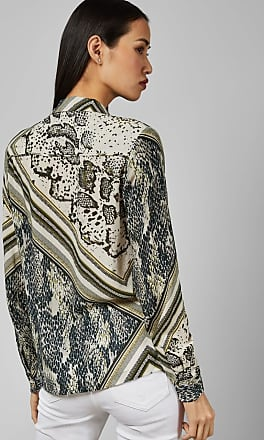 Ted Baker Snake Print Blouse in Taupe MAI, Womens Clothing