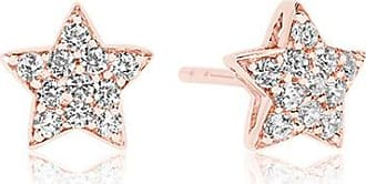 Sif Jakobs Jewellery Earrings Atrani - 18k rose gold plated with white zirconia