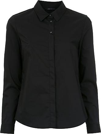 A|X Armani Exchange Camisa mangas longas - Preto