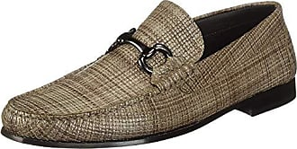 Bugatchi Mens Moccassin Moccasin Taupe 9.5 Medium US