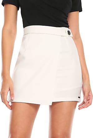 Queens Paris Short-saia Queens Paris Curto Botão Off-white